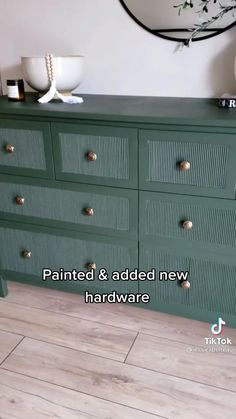 Ikea Furniture Hacks, Diy Furniture Projects, Furniture Makeover, Home Projects, Furniture Decor, Refurbishing Furniture, Diy Dresser Makeover, Ikea Hacks, Hemnes Ikea Hack