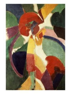 """artemisdreaming: """" Woman With A Parasol, Museo Thyssen-Bornemisza, Madrid Robert Delaunay """" Sonia Delaunay, Robert Delaunay, Paula Modersohn Becker, Modern Art, Contemporary Art, Art Abstrait, French Artists, Oeuvre D'art, Les Oeuvres"""