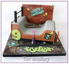 Skate Park Theme Cake | Flickr - Photo Sharing!