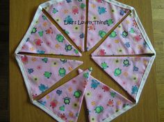 Owl Bunting - The Supermums Craft Fair