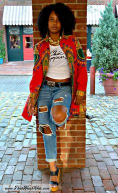 Hello - street style fashion 👠 Stylish outfit ideas for women who love fashion! African Inspired Fashion, African Print Fashion, Africa Fashion, Fashion Prints, African Prints, Ankara Fashion, African Fabric, African Attire, African Wear