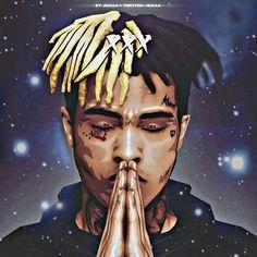 Explore XXXTentacion Adidas Wallpapers on WallpaperSafari Dope Cartoons, Dope Cartoon Art, Cartoon Drawings, Cool Drawings, Rapper Wallpaper Iphone, Rap Wallpaper, Cartoon Wallpaper, Anime Rapper, Rapper Art