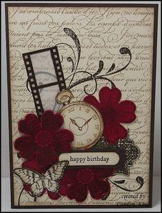 Vintage Flower Shop -Clockworks, Everything Eleanor, Flower Shop, Papillon Potpourri, Teeny Tiny Sentiments