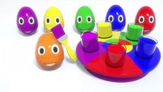 Are you guys ready to learn colors in a new educational cartoon for kids? Let's play with a colorful carousel and paint funny surprise eggs! Keep watching the best kids videos online for free on Mama TV and have fun learning. Learning Colors, Fun Learning, Toddler Videos, Kids Videos, Funny Eggs, Cartoon Kids, 3d Cartoon, Funny Paintings, Baby Songs