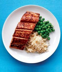 Kid-Friendly Recipe: Ginger-Glazed Salmon - Parenting.com   @Stephanie Swann-Stringham   This is it- hahaha!!
