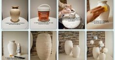 Made with your own love! Home Crafts, Diy Home Decor, Diy And Crafts, Diy Wood Projects, Diy Projects To Try, Glue Art, Homemade Art, Tips & Tricks, Recycled Bottles