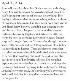 The words say it all :') Favorite Quotes, Best Quotes, Love Quotes, Inspirational Quotes, She Is Quotes, You Broke Me Quotes, Big Heart Quotes, Motivation, Word Porn