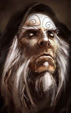 Sorcerer by Gryphart.deviantart.com on @deviantART