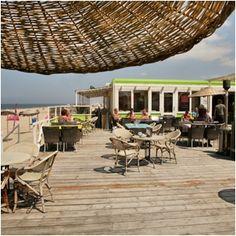 Petite pause culinaire à la plage à Castricum (NL)