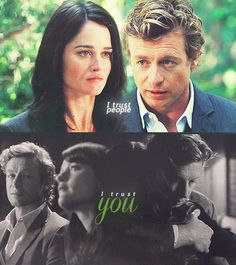 Lisbon + Jane  They Must Get Together By The Time The Series End Because They Are Just To Cute !