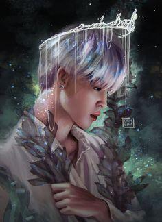 """""""Jimin the Prince of Underwater 👑 Taehyung Fanart, Jimin Fanart, Kpop Fanart, Kpop Memes, Twitter Bts, Foto Jimin, Jimin Wallpaper, Wattpad, Bts Drawings"""