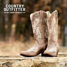 I need boots this year!  Country Outfitter boots