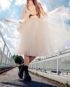 Spódnica tiulowa balerina 70 INFINI - INFINI4YOU - Spódnice tiulowe i halki