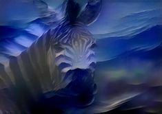 Art Nature, Surreal Art, Wildlife Photography, Printable Art, Surrealism, Wall Art Prints, Digital, Blue, Etsy