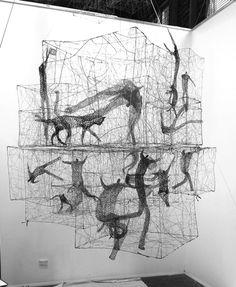 Contemporary Sculpture, Contemporary Art, Sea Sculpture, Expo, Aboriginal Art, Texture Art, Wire Art, Glass Art, Glass Door