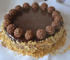 chute a vône mojej kuchyne. Ferrero Rocher, Nutella, Tiramisu, Sweet Tooth, Food And Drink, Cooking Recipes, Baking, Cake, Ethnic Recipes