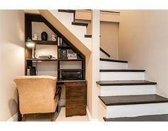 Under the stairs office!