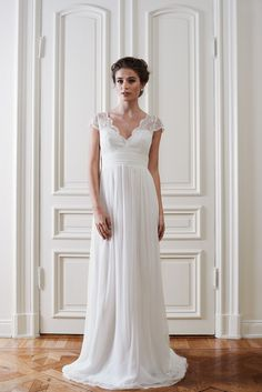 eb2dcdbd0dc8 Alysia wedding gown from By Malina from the Spring Summer 2015 Wedding  Collection. Pernilla Svanäng · Klänning