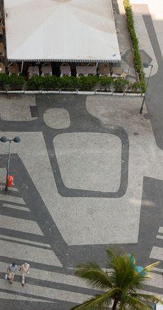 Copacabana Beach Pavement - Roberto Burle Marx (landscape architect)