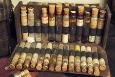 Portable Apothecary with Medicine Viles by Cheri Sundra: Guerilla Historian, via Flickr