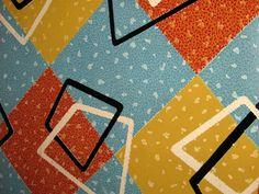 Linolium flooring in the kitchen Mid Century House, Mid Century Style, Mid Century Design, Retro Vinyl Flooring, Linoleum Flooring, Vintage Decor, Retro Vintage, Vintage Kitchen, Mini Kitchen