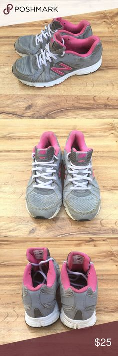 New Balance 481 Pink Grey Running Shoe Sz 8 Size 8, fabric, lightweight running shoe New Balance Shoes Sneakers