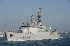 French Marine Nationale high seas patrol vessel LV Le Hénaff.  Photo Marine Nationale.