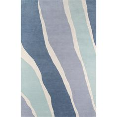 Novogratz By Momeni Sorbet Hand-Tufted Blue Area Rug