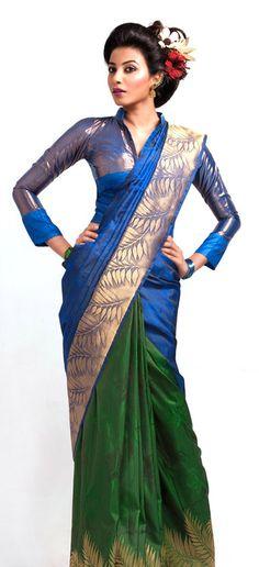 Love the saree minus blouse