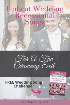 Upbeat Recessional Songs For A Fun Wedding Ceremony Exit — Dancing Brides Prelude Wedding Songs, Wedding Recessional Songs, Romantic Wedding Songs, Perfect Wedding Songs, Wedding Songs Reception, First Dance Wedding Songs, Wedding Song List, Wedding Party Songs, Wedding Favors