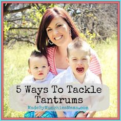 5 Tips parents can use to tackle toddler tantrums from Made By Munchie's Mama