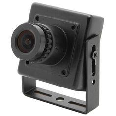 Mini 1000TVL CMOS 2.8-12mm Manual Focus Zoom Lens security FPV CCTV Audio camera