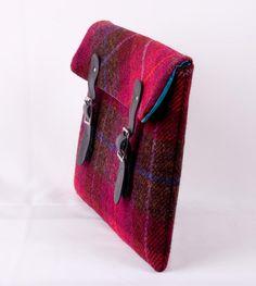 simple tweed purse