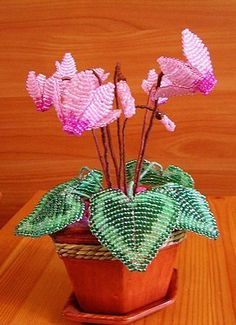 French beaded flowers how to make.  Beading flower patterns | Laboratory household