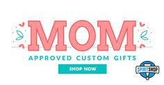Personalize the perfect pieces for mom!    #MothersDay #Gift #custom