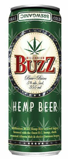 Millennium Buzz , Hemp Beer Ale, Old Beer Cans, Beer Bucket, Beers Of The World, Bourbon Cocktails, Beer Brands, Beer Packaging, Cream Soda, Beer Lovers