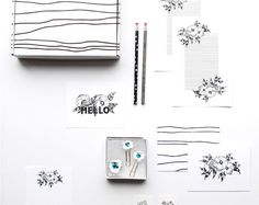 The perfect gift for that special someone on your Christmas list! Stationary Set, Hand Lettering, Branding Design, Modern Design, Etsy Seller, Digital, Creative, Shop, Christmas