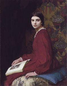 George Spencer Watson - Ritratto di Betty Mc Cann - 1927