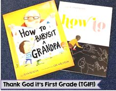 Two of my favorite mentor texts for teaching how to writing in 1st grade!