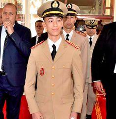 Prince héritier Moulay Hassan du Maroc, 14 ans, né en 2003