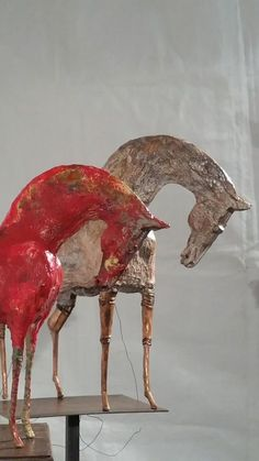 Image gallery – Page 200691727127866312 – Artofit Paper Mache Sculpture, Horse Sculpture, Animal Sculptures, Ceramic Sculptures, Ceramic Animals, Ceramic Art, Porcelain Ceramic, Equestrian Decor, Equine Art