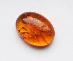 12x16mm Oval Natural Golden Honey Baltic Amber by iwoowoo on Etsy, $12.00