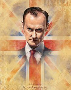 Brother mine (Mycroft Holmes) by Feyjane.deviantart.com on @DeviantArt