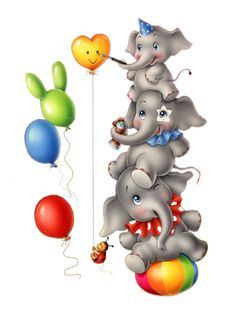 ❣Julianne McPeters❣ no pin limits Elephant Art, Cute Elephant, Elephant Illustration, Unicorn Pictures, Baby Clip Art, Baby Drawing, Christmas Drawing, Happy Birthday Images, Fruit Art