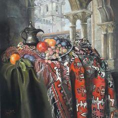 Fruit Painting, Pastel Art, Paintings, Soft Pastel Art, Paint, Painting Art, Painting, Painted Canvas, Portrait