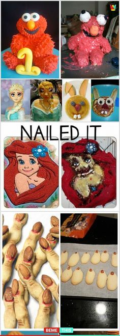 "21 Distressing Yet Funny Baking Fails That Will Make You Say ""Bake Off"" #baking #epicfails #bakingfails #humour #photos #expectationvsreality"