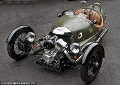 Front V engine