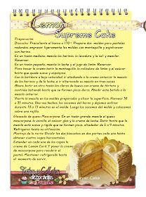 Cake Recipes, Snack Recipes, Dessert Recipes, Cooking Recipes, Desserts, Dominican Food, Dominican Recipes, Lemon Curd, Biscotti