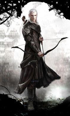 Elven Archer reloaded by Vynthallas on deviantART:
