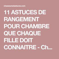 11 ASTUCES DE RANGEMENT POUR CHAMBRE QUE CHAQUE FILLE DOIT CONNAITRE - Chasseurs d'astuces